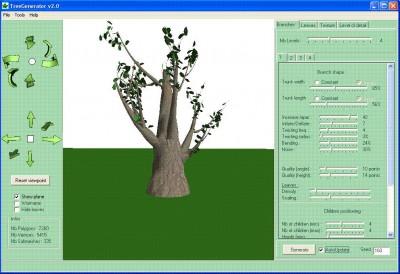 Tree Generator 2.0 screenshot