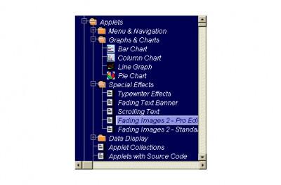Tree Navigation System. 1.3 screenshot