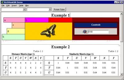 TRichView for Delphi 17.1.2 screenshot