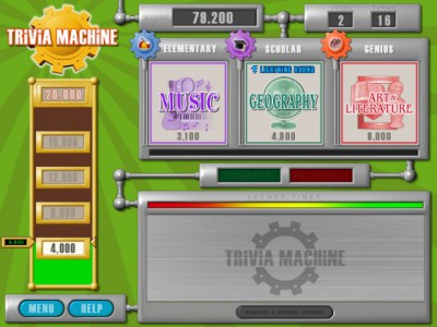 Trivia Machine 1.1 screenshot