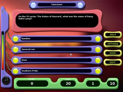 TriviaNet Challenge 1.0 screenshot