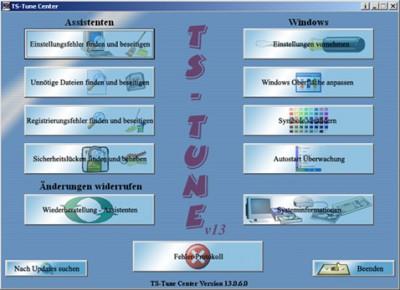 TS-Tune Center 13.0 screenshot