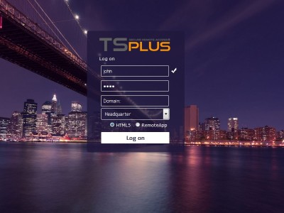TSplus 9.10 screenshot