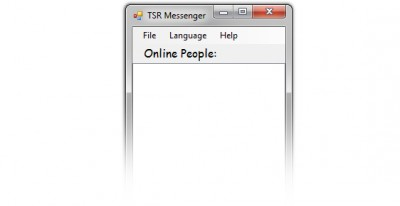 TSR LAN Messenger 1.6.6.460 screenshot