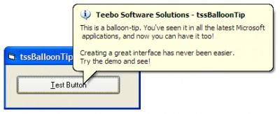 tssBalloonTip 1.0 screenshot