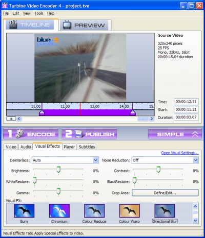Turbine Video Encoder 4 screenshot