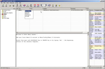 Turbo Email Answer & Autoresponder 2.1.20 screenshot