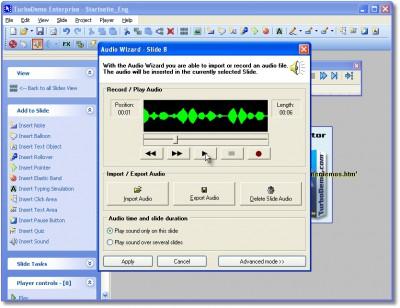 TurboDemo 7.5 screenshot