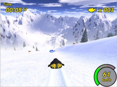 Tux Racer 0.61 screenshot