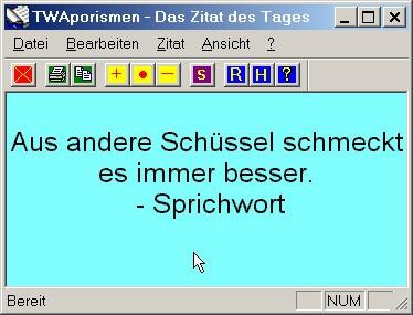 TWAphorism 1.6 screenshot
