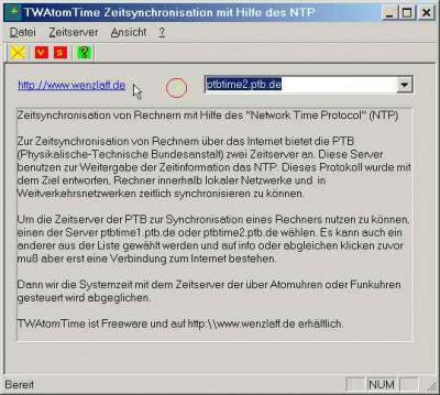 TWAtomTime 1.2 screenshot