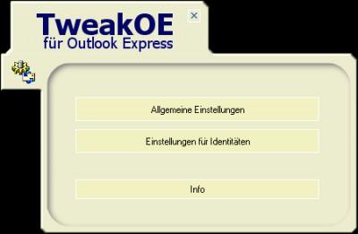 TweakOE 2.2 screenshot