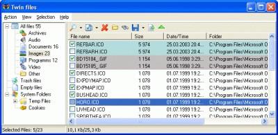 Twin Files 1.3 screenshot
