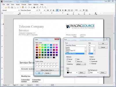 TX Text Control .NET Standard 13.0 screenshot