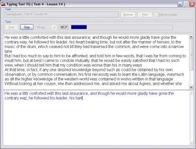 Typing Test TQ - Free Typing Test 6.1 screenshot