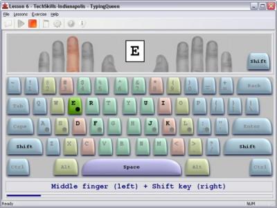 TypingQueen - Typing Tutor 6.2 screenshot