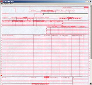 UB-92 Fill & Print 2.6 screenshot