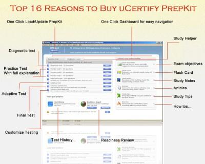 uCertify 70-271 Troubleshoot Microsoft W 8.06.05 screenshot