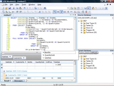 UDB Workbench 3.4.3 screenshot