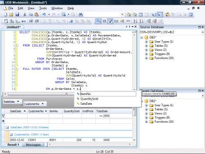 UDB Workbench 3.4.3 screenshot
