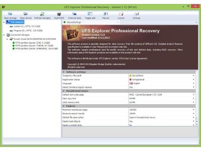 UFS Explorer RAID Recovery (Win) 5.23.3 screenshot