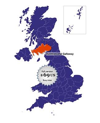 UK Online Map Locator 1.0 screenshot
