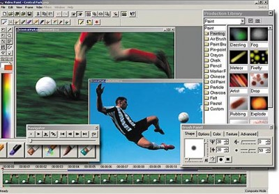 Ulead MediaStudio Pro 7 screenshot