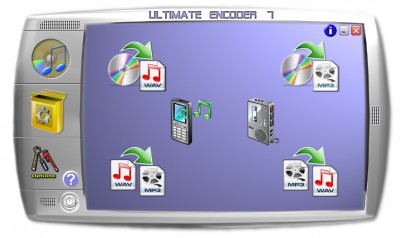 Ultimate Encoder 7 7.00a screenshot