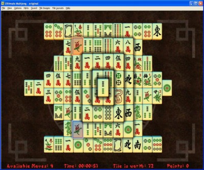 Ultimate Mahjong 1.2 screenshot