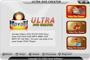 Ultra DVD Creator 2.9.1222 screenshot
