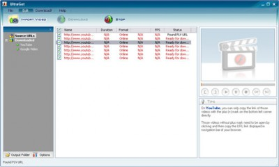 Ultraget Video Downloader 3.0.7 screenshot