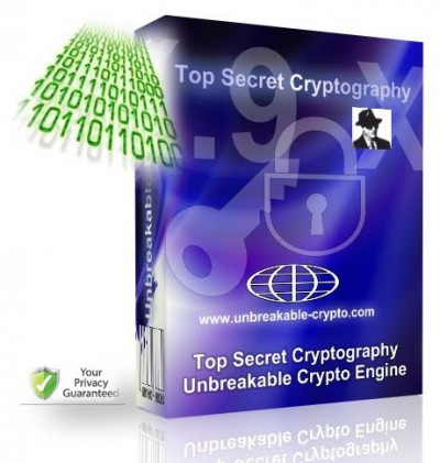 Unbreakable Encryption Software 2.8.6.81 screenshot