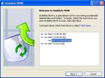 Undelete NOW! 1.0 screenshot