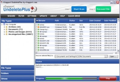 UndeletePlus 3.0.7.512 screenshot