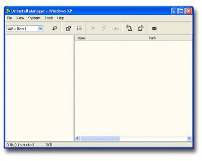 Uninstall Manager 4.30 screenshot