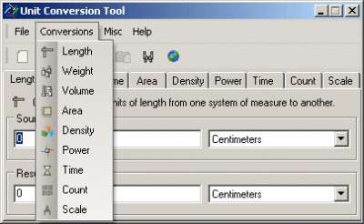 Unit Conversion Tool 5.0 screenshot