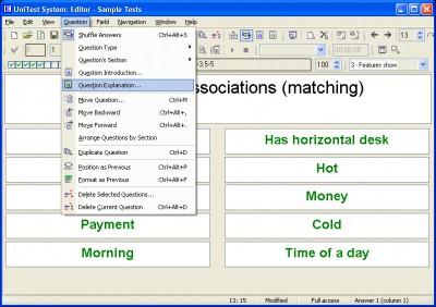 UniTest System 4.11.0 screenshot