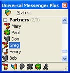 Universal Messenger Plus 1.02 screenshot