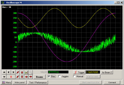 Universal Software Oscilloscope Library 2.8.0 screenshot