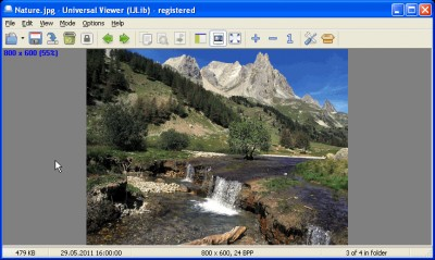 Universal Viewer Free 5.7.3 screenshot