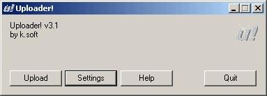 Uploader! 3.6 screenshot