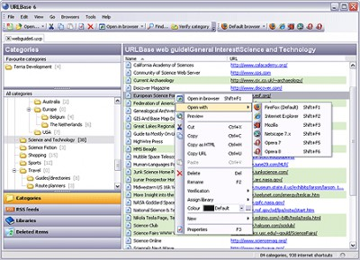 URLBase 6 Professional Edition 6.1.0.1130 screenshot