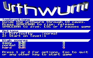 UrthWurm 1.0 screenshot