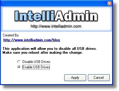 USB Drive Disabler 2.0 screenshot