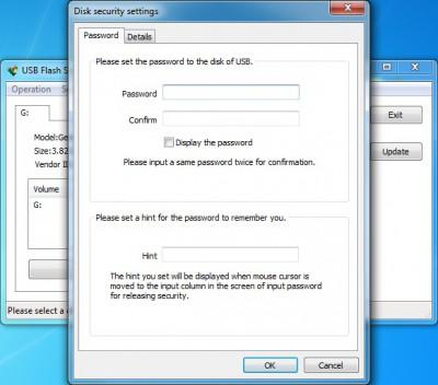 USB Flash Security++ 4.1.11 screenshot