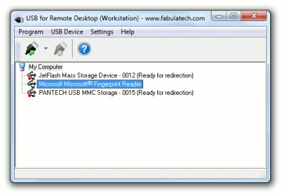 USB for Remote Desktop 6.0.7 screenshot