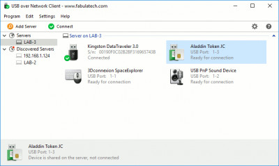 USB over Network 6.0.4 screenshot