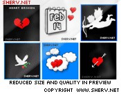 Valentine MSN Display Pictures 1.0 screenshot