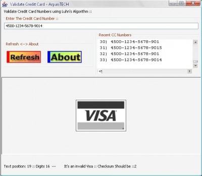 Validate Credit Card 2.15.3 screenshot