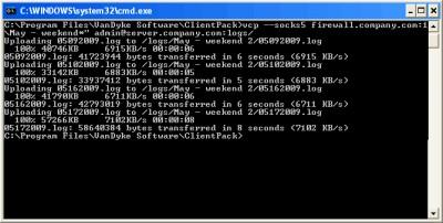 VanDyke ClientPack for Windows, Mac and UNIX 8.7.2 screenshot
